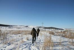呼伦贝尔牙克石供电局:寒冬巡线