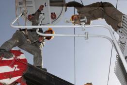 延安供电局80小时更换主变全力缓解志丹今冬用电状况