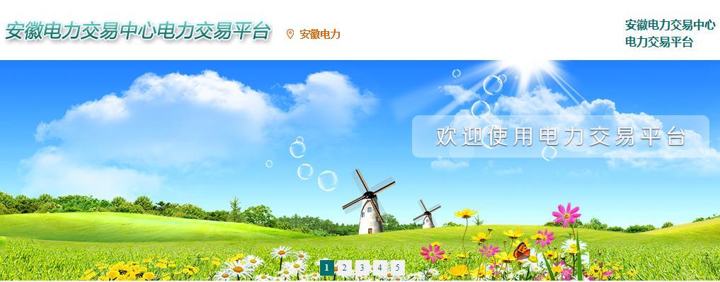 安徽省电力交易中心官网