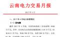 昆明电力交易中心发布2017年4月云南电力交易月报