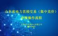 山东省电力直接交易(集中竞价)申报操作流程
