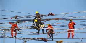 锡盟—泰州±800千伏特高压直流输电线路工程江苏段线路架设接近尾声