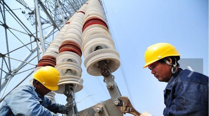蒙西-天津南1000千伏特高压线路18标段全线贯通