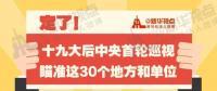 定了!华电集团、中核集团将接受十九届中央第一轮巡视