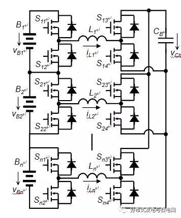 级联式储能电池组均衡器及其自均衡策略