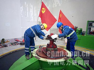 蒙江水电厂:完成机组检修
