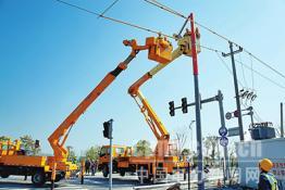 象山供电:带电作业