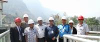 尼泊尔地区官员赞赏上马相迪A水电站生产运营管理工作