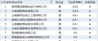 云南电力市场售电公司目录及相关信息