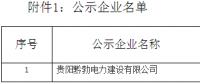 贵州电力交易中心公示1家售电公司
