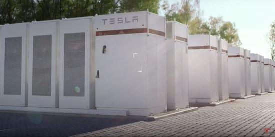 特斯拉推出新Powerpack项目 总功率输出 18.2 MW