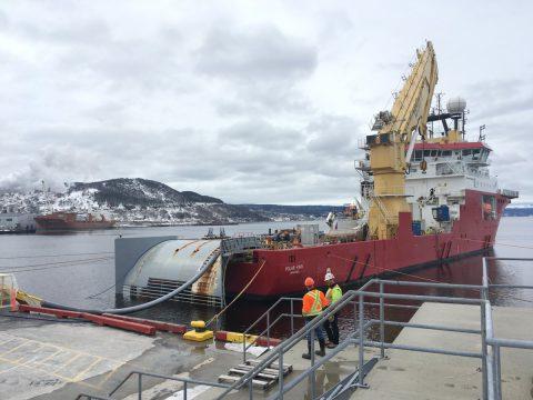 耐克森成功部署加拿大跨贝尔岛海峡海底电缆