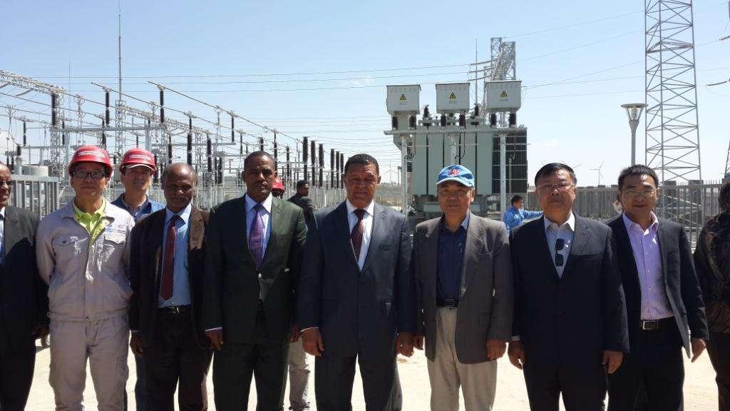 全球能源互联网发展合作组织向埃塞俄比亚移交援助项目