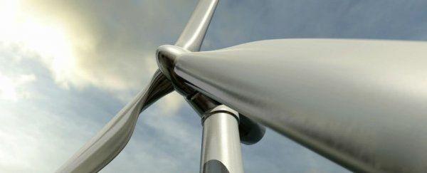 大得吓人的风力涡轮机:比帝国大厦还高30米