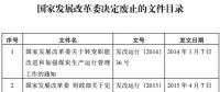 发改委废止《关于规范跨省发电、供电计划和省级发电、供电计划备案核准报送审批工作》等8个文件
