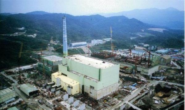 核四电厂空中俯视图
