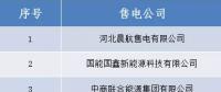 山西电力交易中心:跨省售电公司公示结果