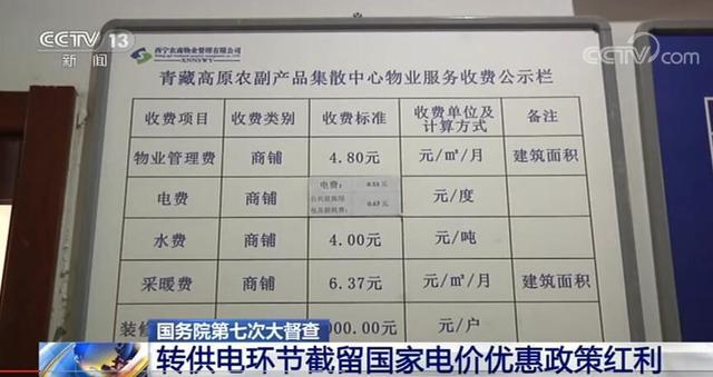 谁在加价150%收电费?国务院督查组暗访电价红利被截留